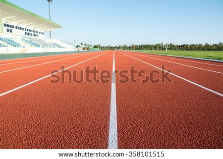 Ground Running - stock photo