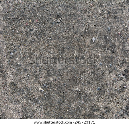 Ground surface. Close up natural background / Ground seamless textured surface background under bright sunlight / closeup texture - stock photo