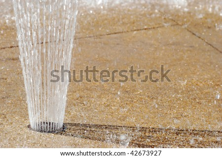 Ground Water Fountain
