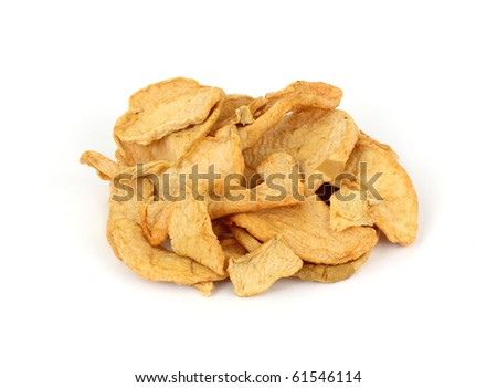 Group Bulk Apple Rings - stock photo