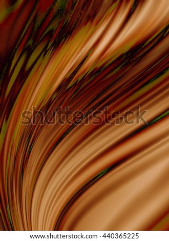 Group flow off orange purple waves coated diverging stains   - stock photo