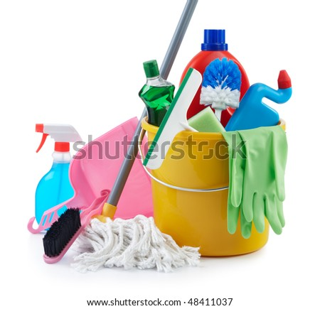pictures of household cleaning products
