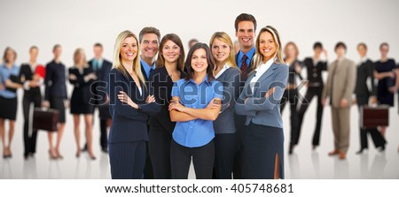 Group of business people. - stock photo