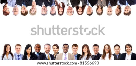 Group of business people - stock photo
