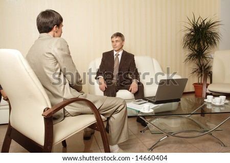 Group of business people working together in the office. - stock photo