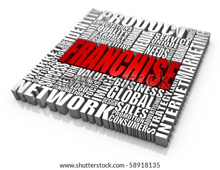 Group of business related words. Part of a series of business concepts. - stock photo