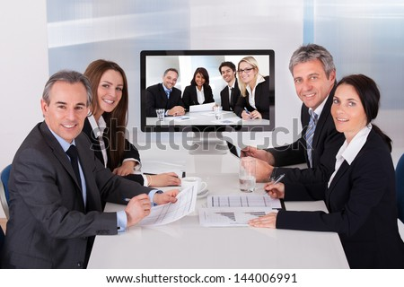 Video Conference Stock Images, Royalty-Free Images & Vectors ...
