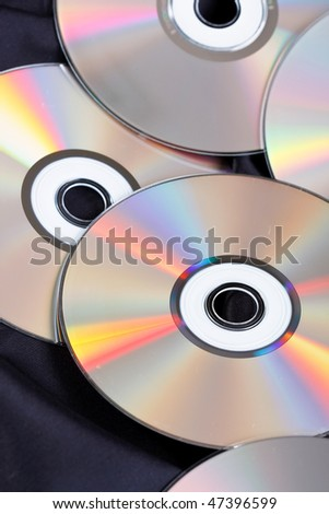 group of CDs