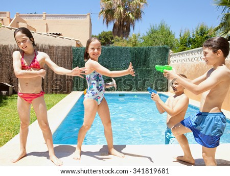 Model search stock photos images pictures shutterstock for Children s garden pools
