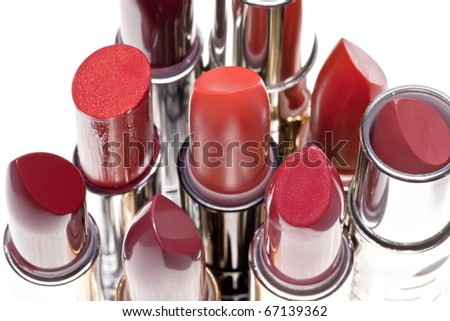 group of lipsticks