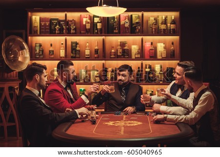 Group poker