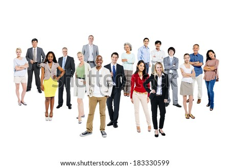 Group of Multi-Ethnic And Diverse People
