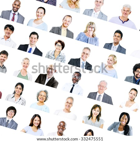 Group of Multiethnic Diverse Business People Concept