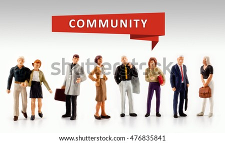 group of people â?? Community Citizen Connection Group Network Concept