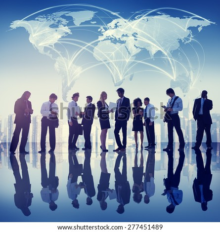 Group of People Global Business Concept