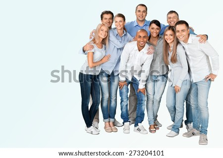 Group Of People, People, Friendship. - stock photo