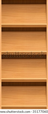 group of shelves, seamless
