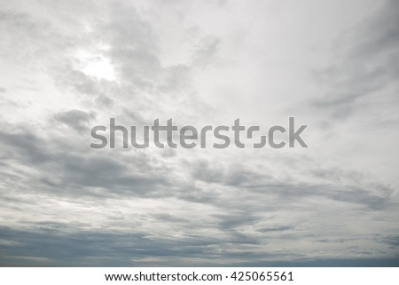 Group of storm cloud close up background. - stock photo