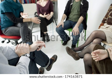 Group Therapy - stock photo