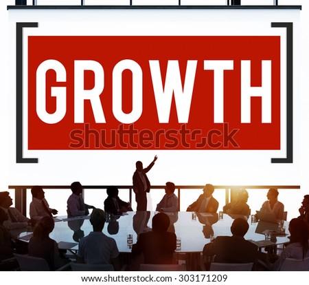 Growth Grow Development Improvement Change Concept - stock photo