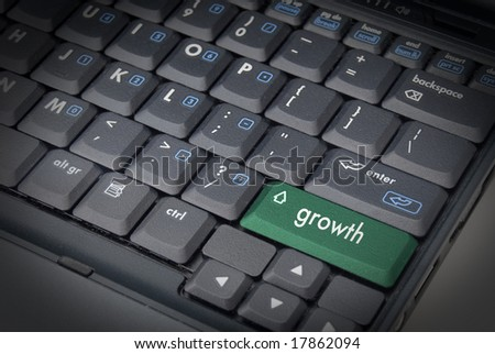 Growth is the Key - stock photo