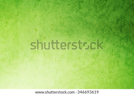 grunge abstract background, vivid green color - stock photo