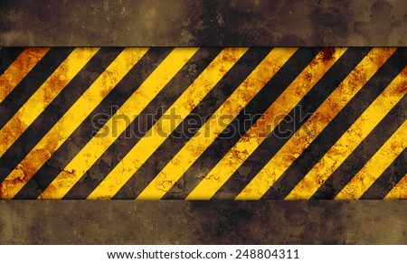 Grunge abstract background with yellow lines