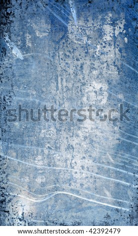 grunge abstract ice background for multiple uses - stock photo