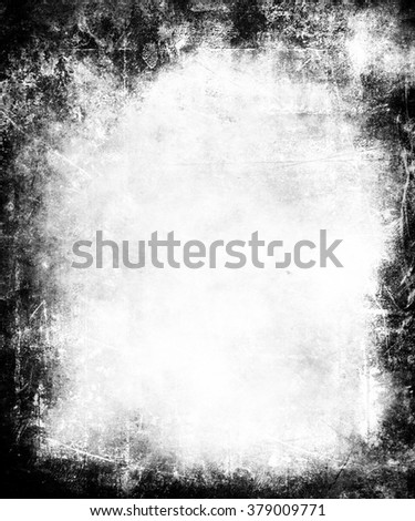 Grunge abstract texture background with faded central area for your text or picture - stock photo