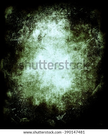 Grunge abstract texture background with faded central area for your text or picture