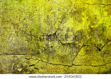 Grunge aged abandoned factory wall texture. - stock photo