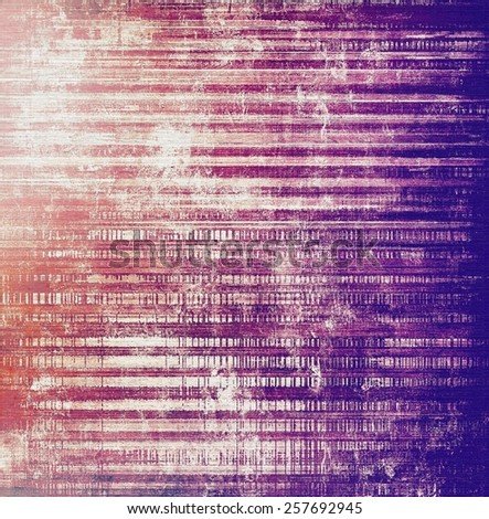 Grunge aging texture, art background. With different color patterns: gray; purple (violet); red (orange); pink