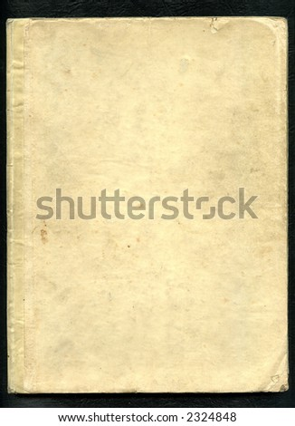 Grunge antique book cover