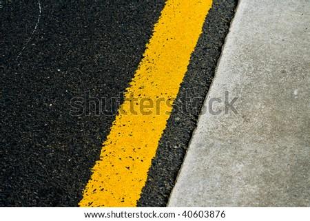Grunge Asphalt Texture - stock photo