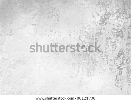Grunge background - abstract background texture - light grey and white backdrop - stock photo