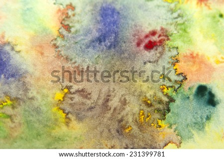 Grunge background.Abstract watercolor background - stock photo