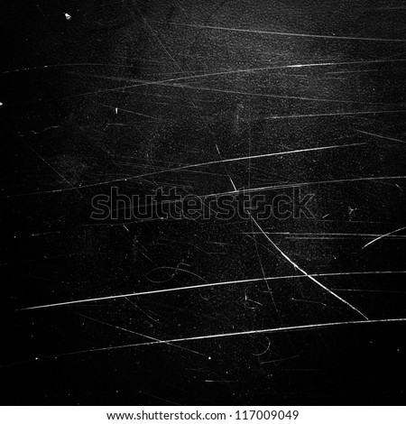 Grunge background. Black scratched texture. - stock photo