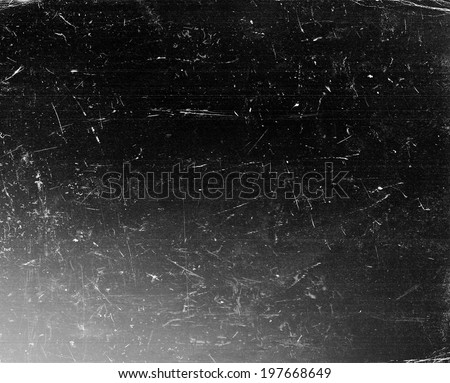 Grunge background. Black scratched vintage texture