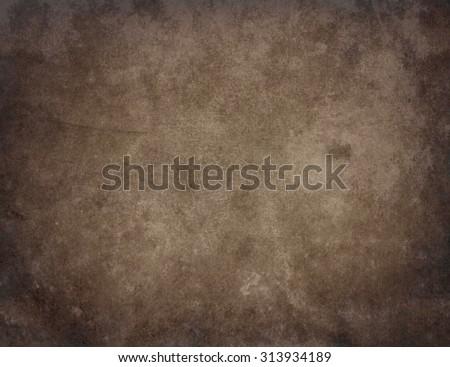 Grunge background. Brown background - stock photo