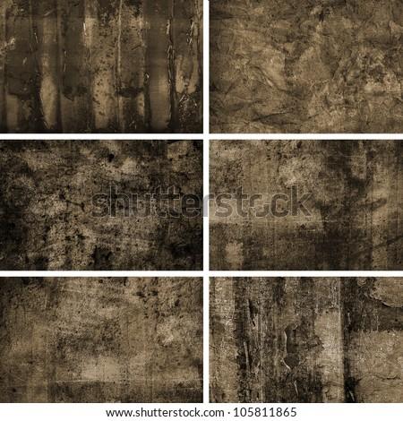Grunge Background Collage - stock photo