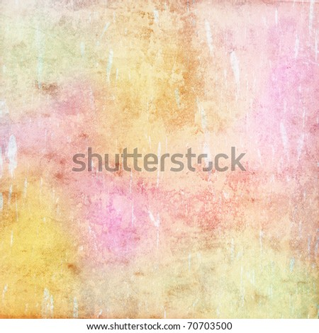 grunge background, colorful pastel  texture - stock photo