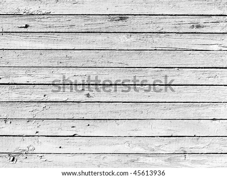 Grunge background from dried black and white wooden plank - stock photo
