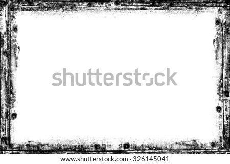 Grunge background. Grunge frame. Torn edges