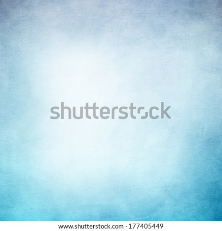 Grunge background in blue and white color - stock photo
