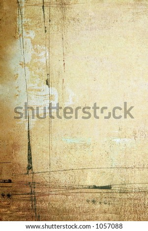 Grunge Background Muslin Backdrop (Insert your client) - stock photo