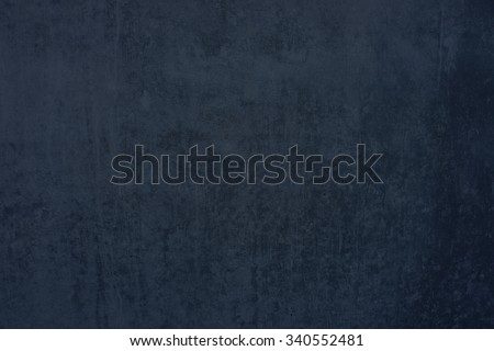 Grunge background of blue grey concrete wall with scratches - stock photo