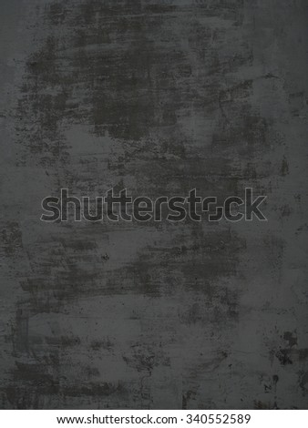 Grunge background of dark grey concrete wall with scratches - stock photo