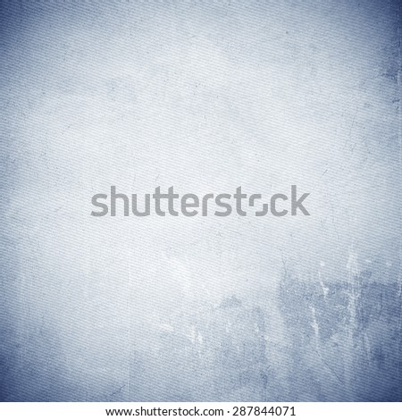 grunge background old canvas texture subtle lines pattern, white jeans texture background - stock photo