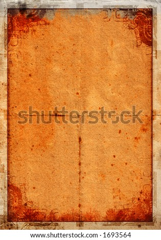 Grunge background on a detailed paper texture 01