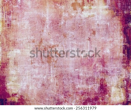 Grunge background or texture for your design. With different color patterns: yellow (beige); brown; purple (violet); pink - stock photo